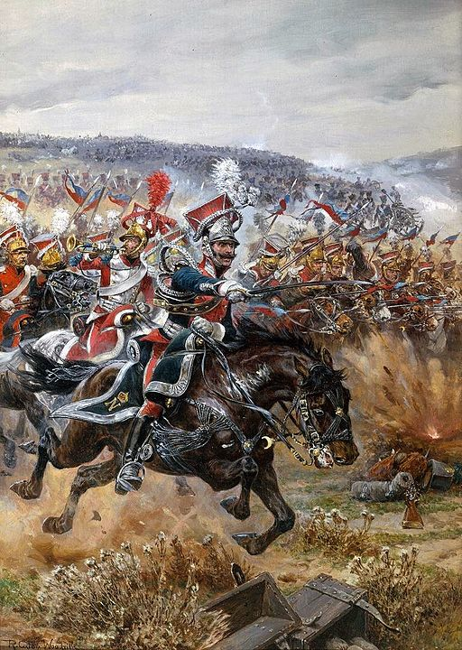 512px-Woodville_Richard_Caton_-_Poniatowski's_Last_Charge_at_Leipzig_1912